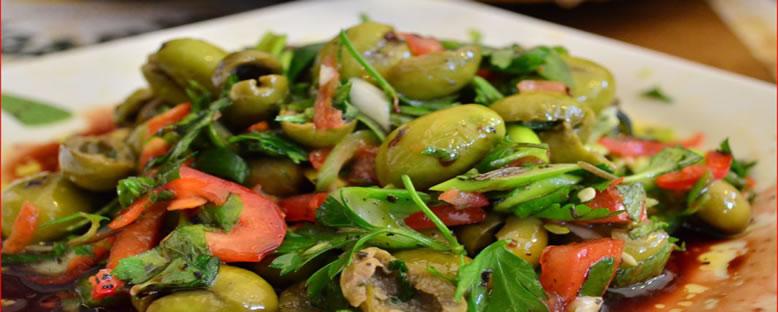 Zeytin Salatası - Hatay